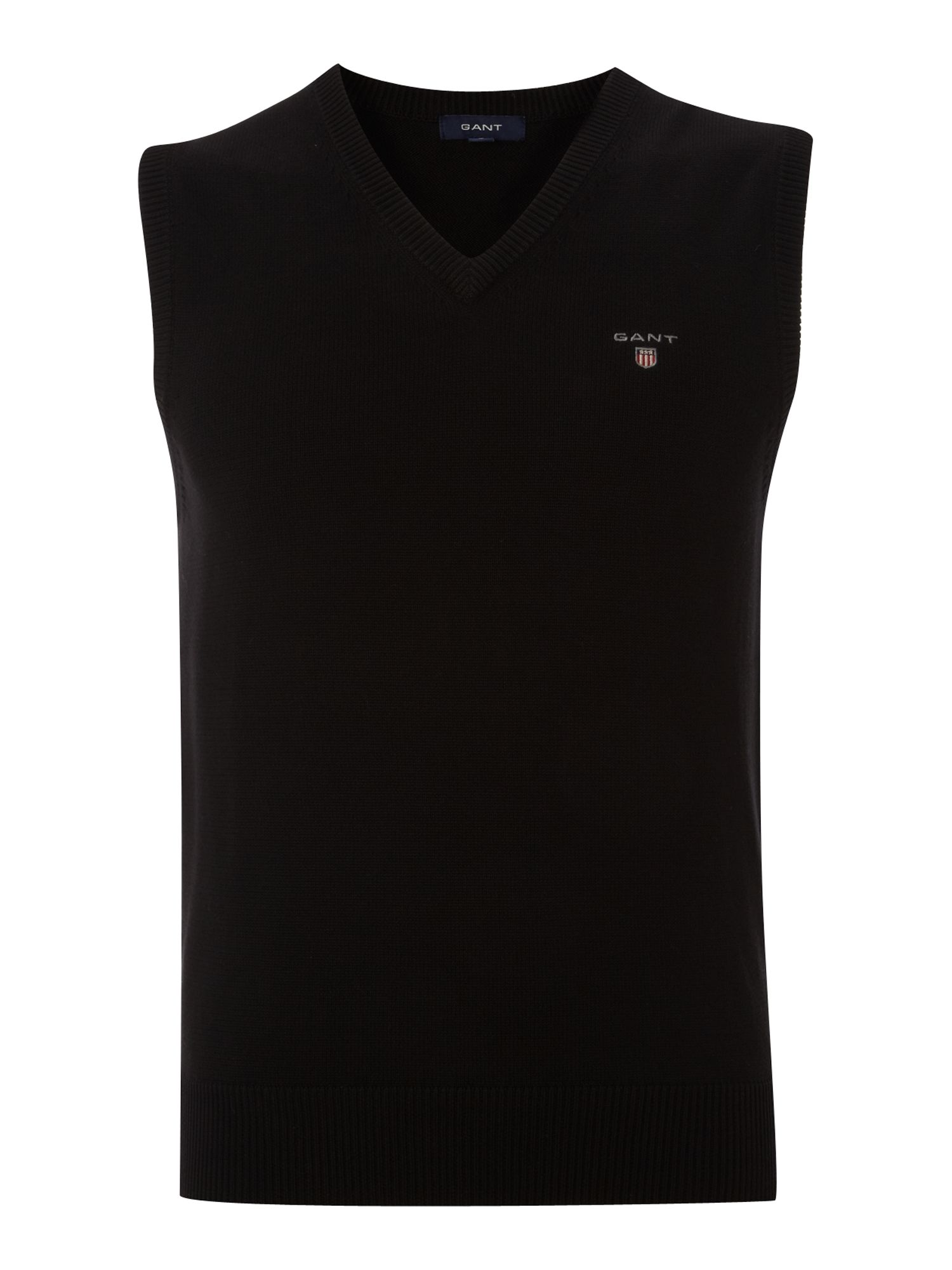 V neck sleeveless jumper