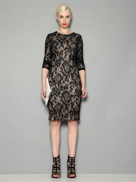 Pied a Terre Lace shift dress