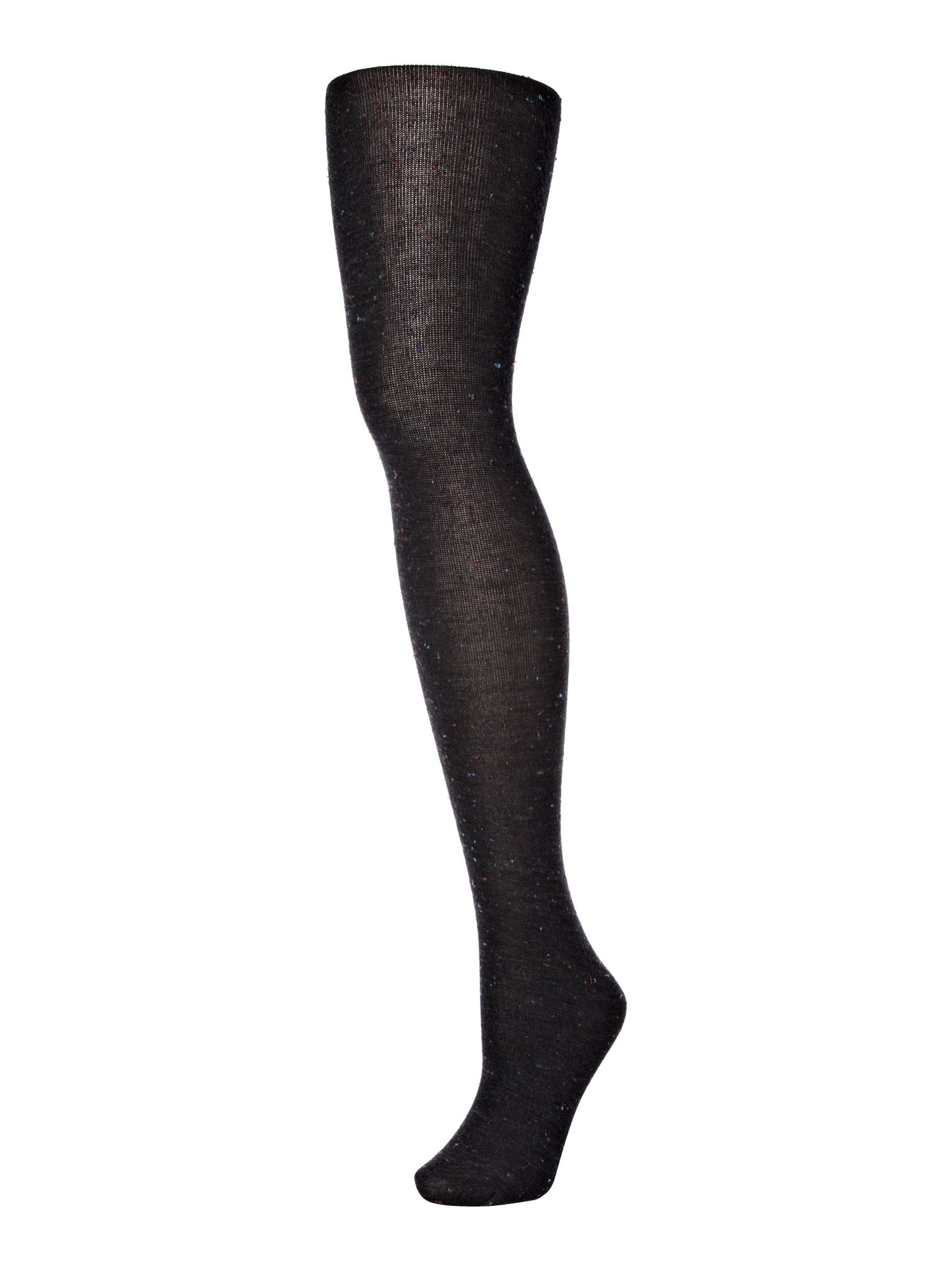 Multi colour slub tights