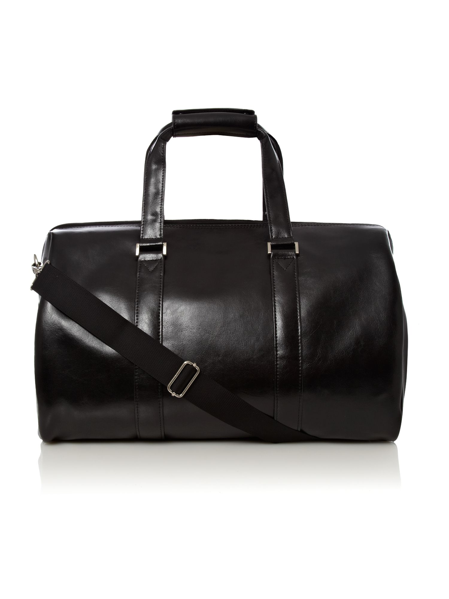 Linea black medium holdall