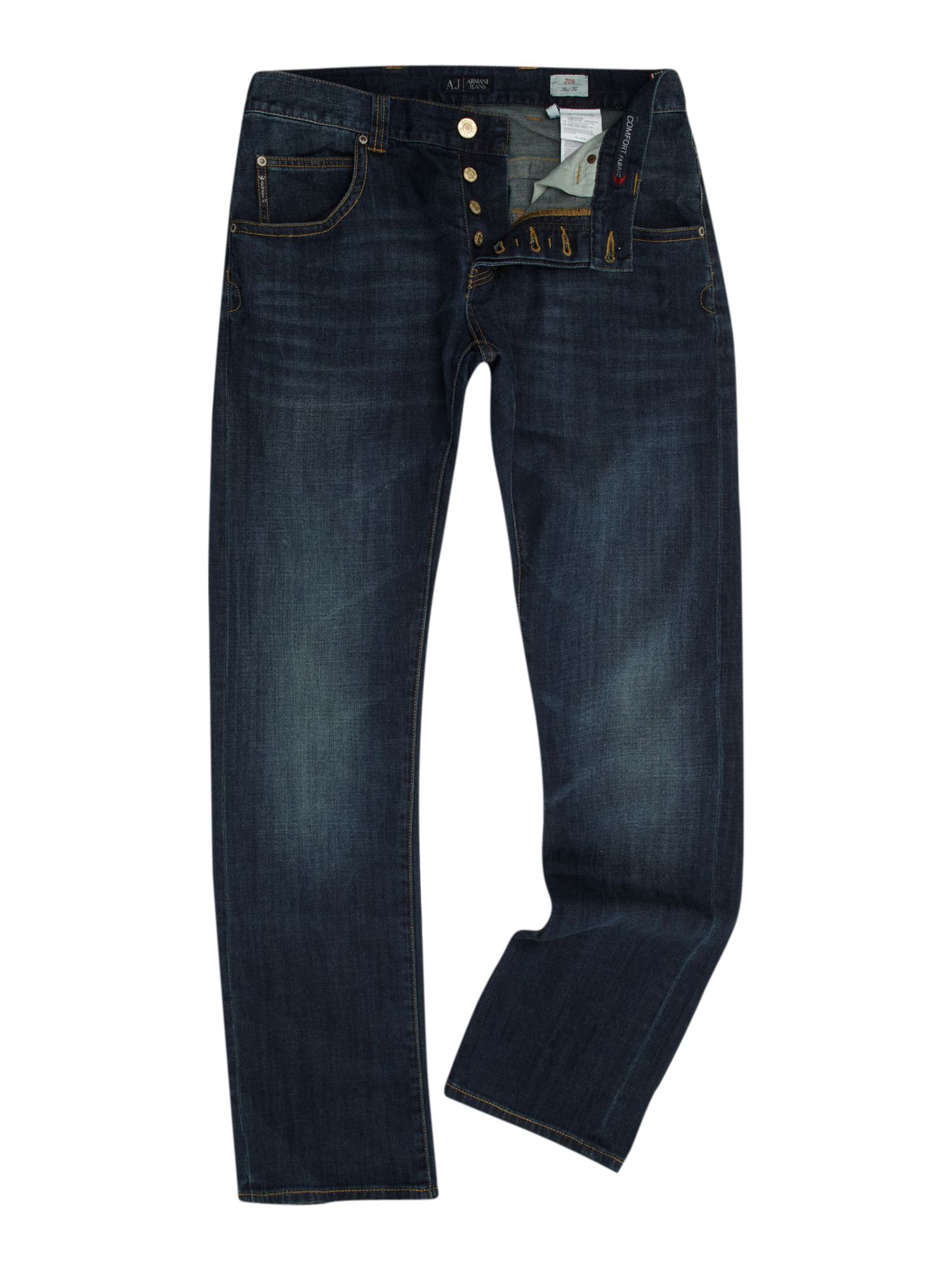 J08 slim fit gold eagle jeans
