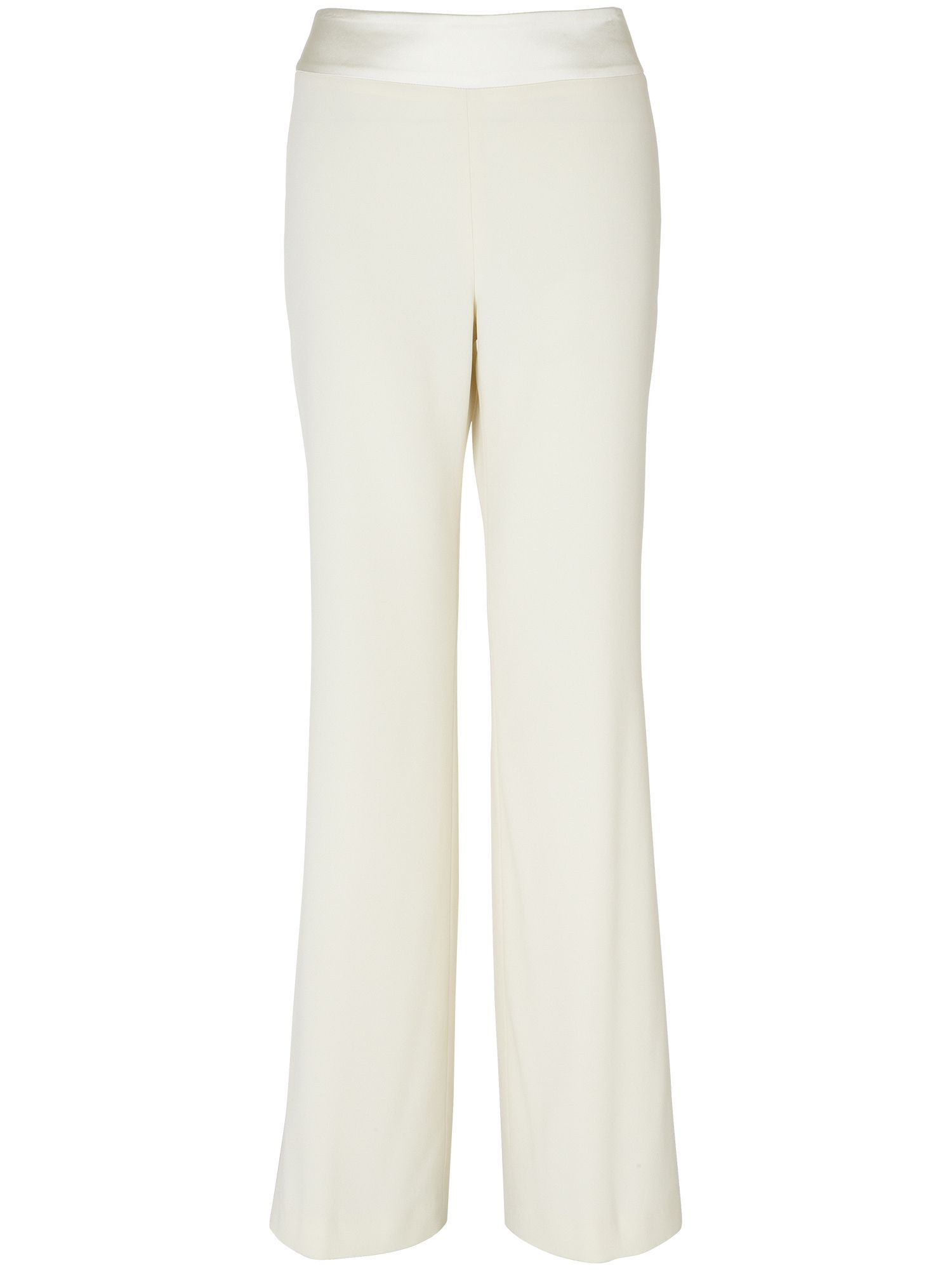 Satin back crepe trousers