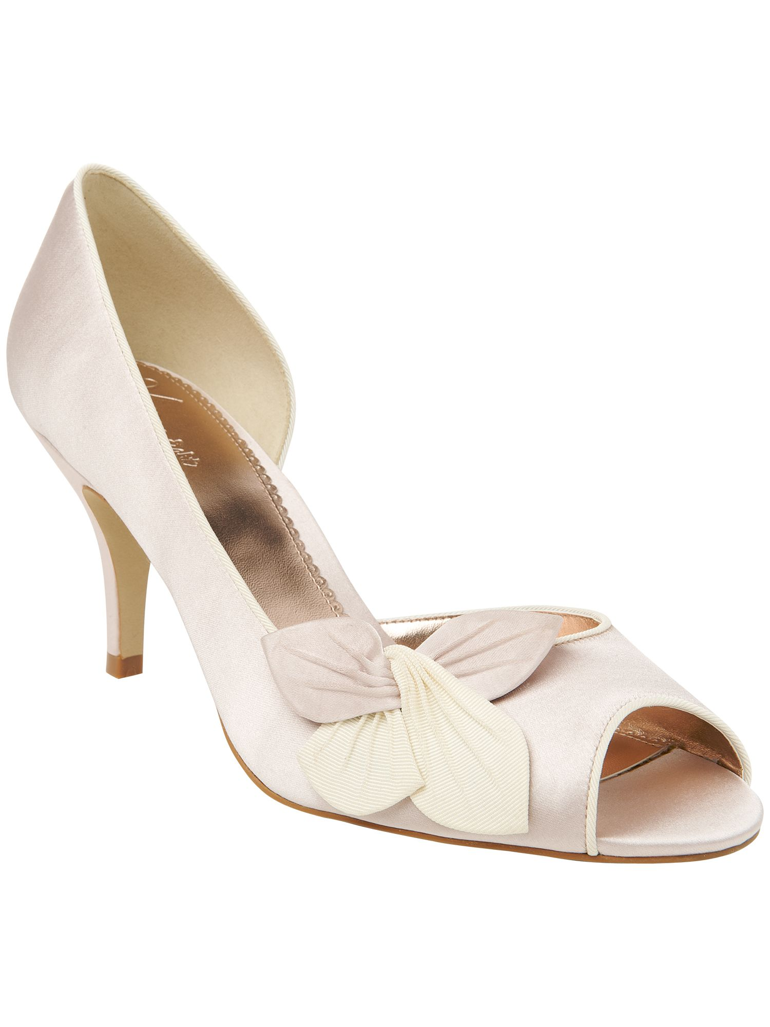 Anabel peep toe shoes