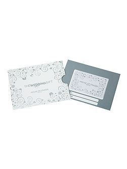 £50 Wedding Gift Card
