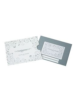 House of Fraser £150 Wedding Gift Card