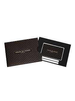 £30 Embossed Lattice Gift Card