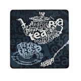 Inspire Tea text placemats set of 4