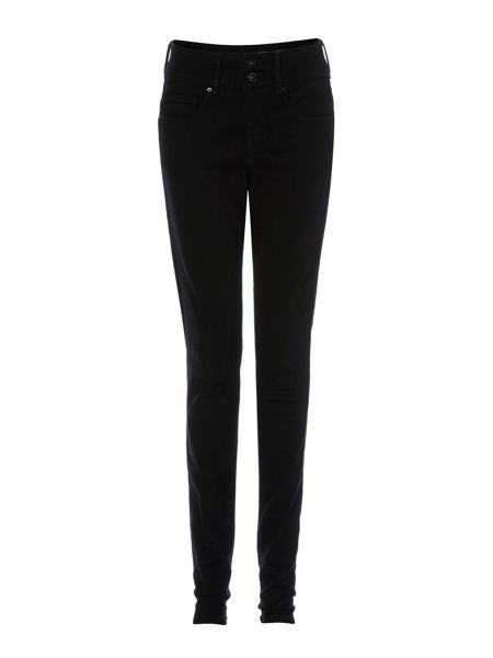 Salsa Secret Push-In skinny jeans in Black