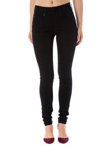 Secret Push-In skinny jeans in Black