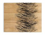 Zebra wood placemats set of 2