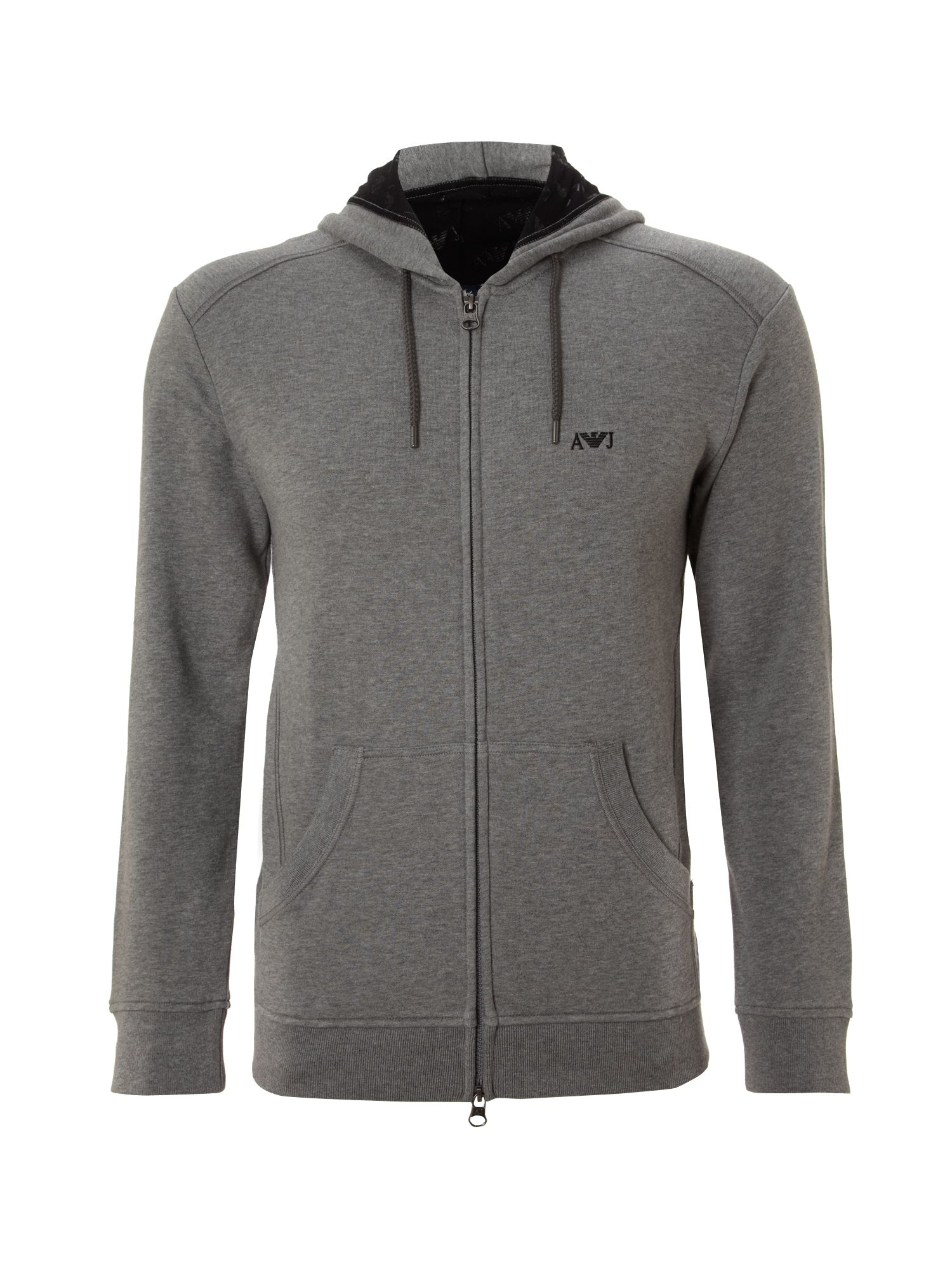 Logo hooded jumper