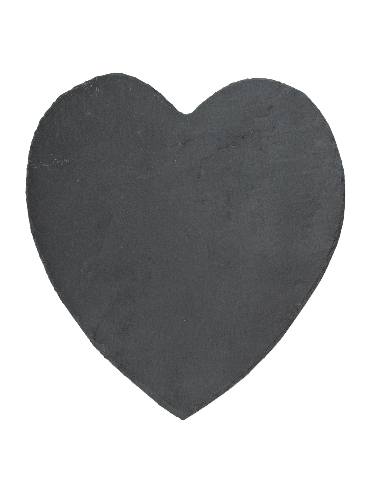 Slate heart placemats set of 2