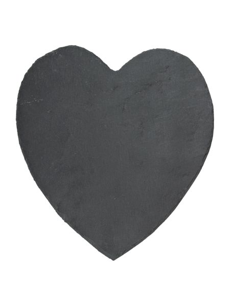 Inspire Slate heart placemats set of 2
