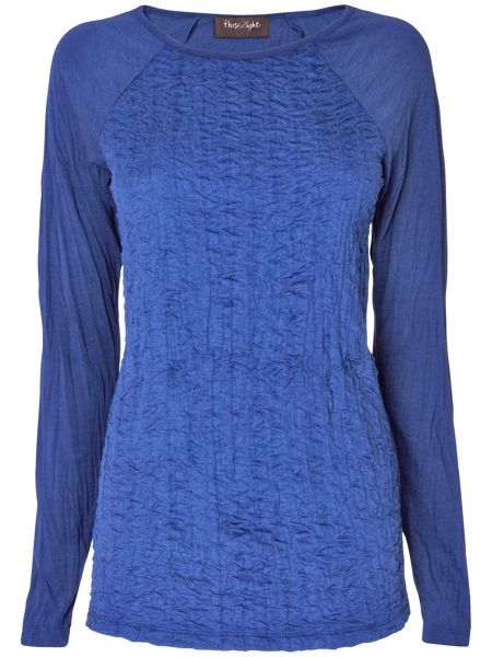 Phase Eight Demi crinkle front top