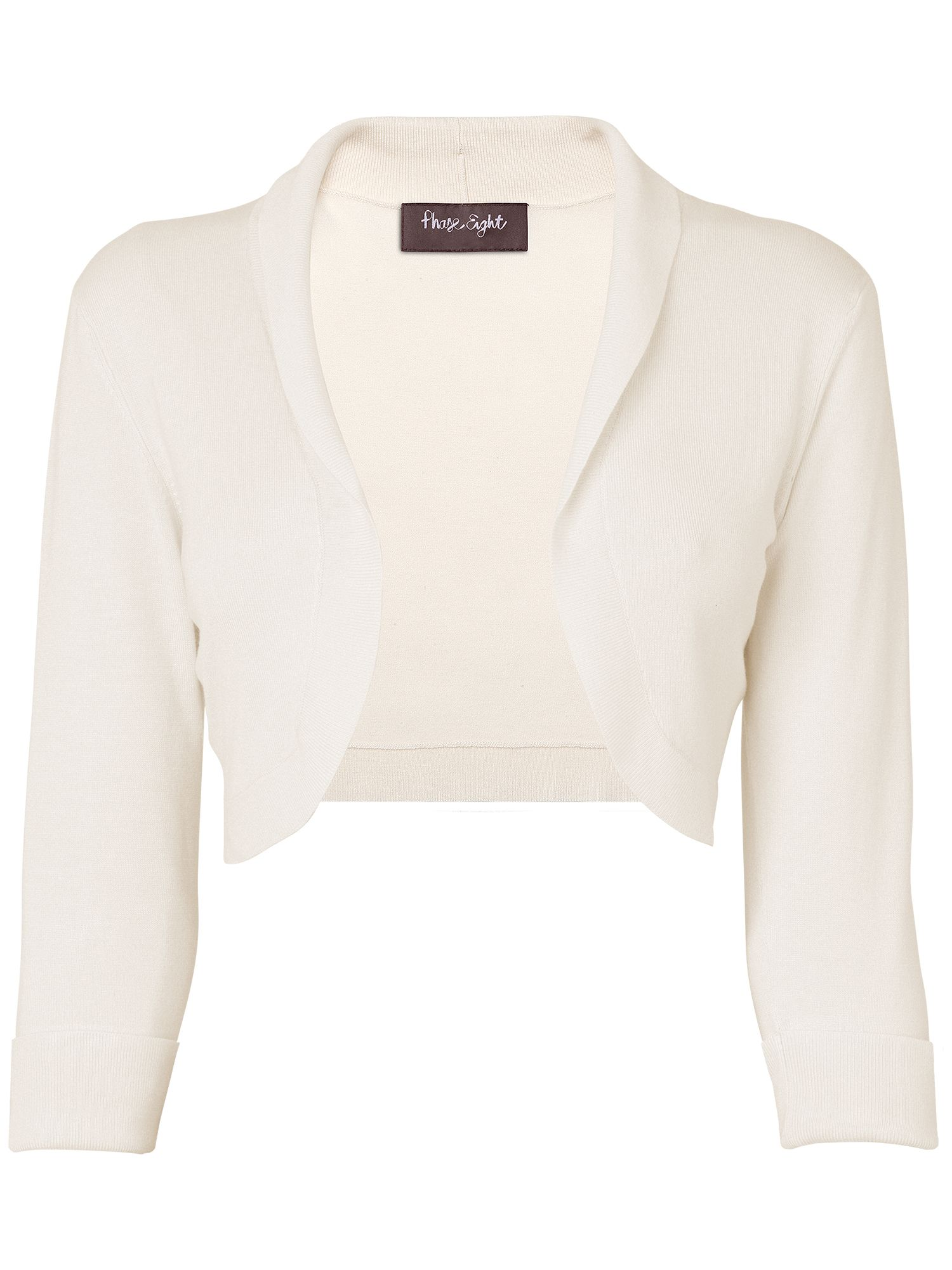 Shawl collar bolero