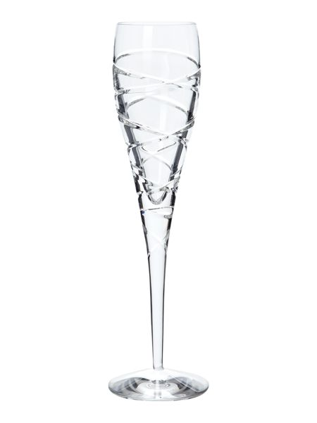 Spiral champagne flute