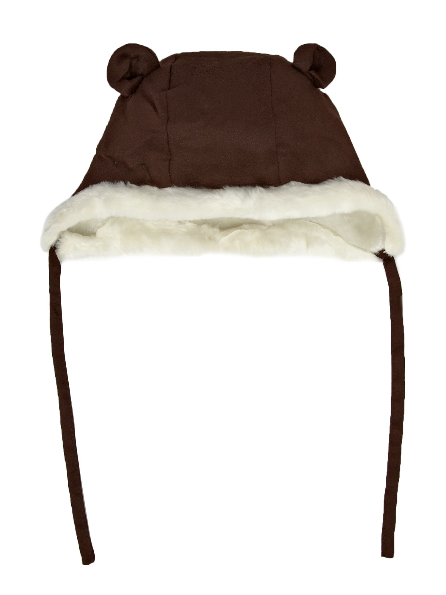 Kid`s sheepskin hat with ears