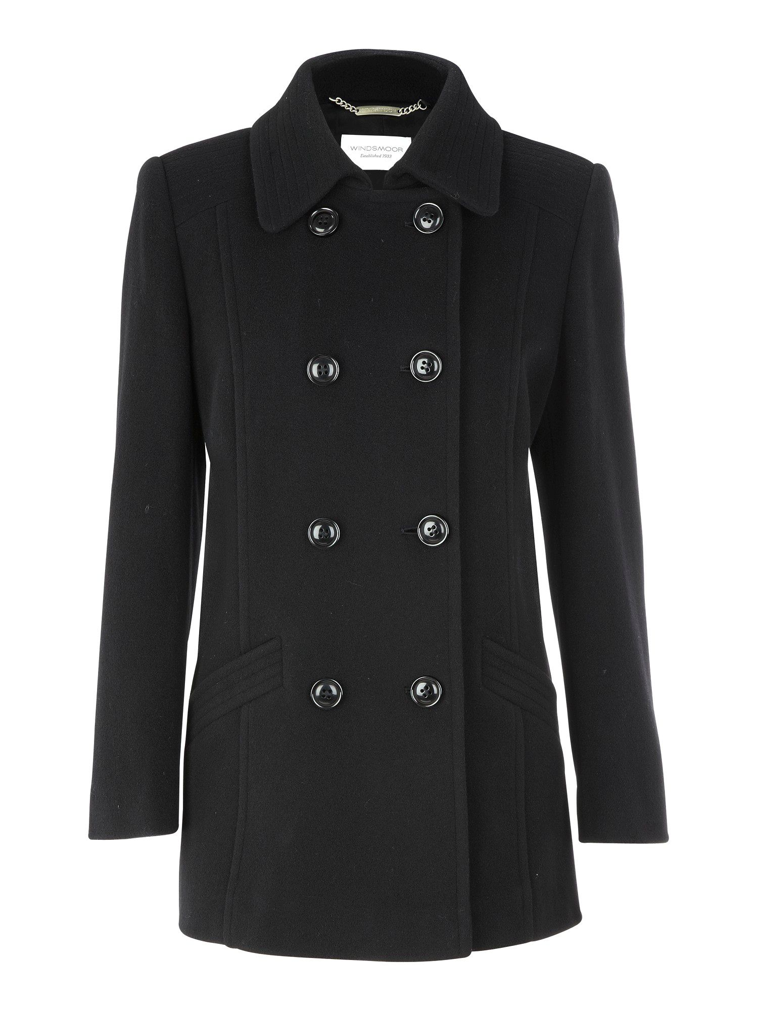 Black short coat