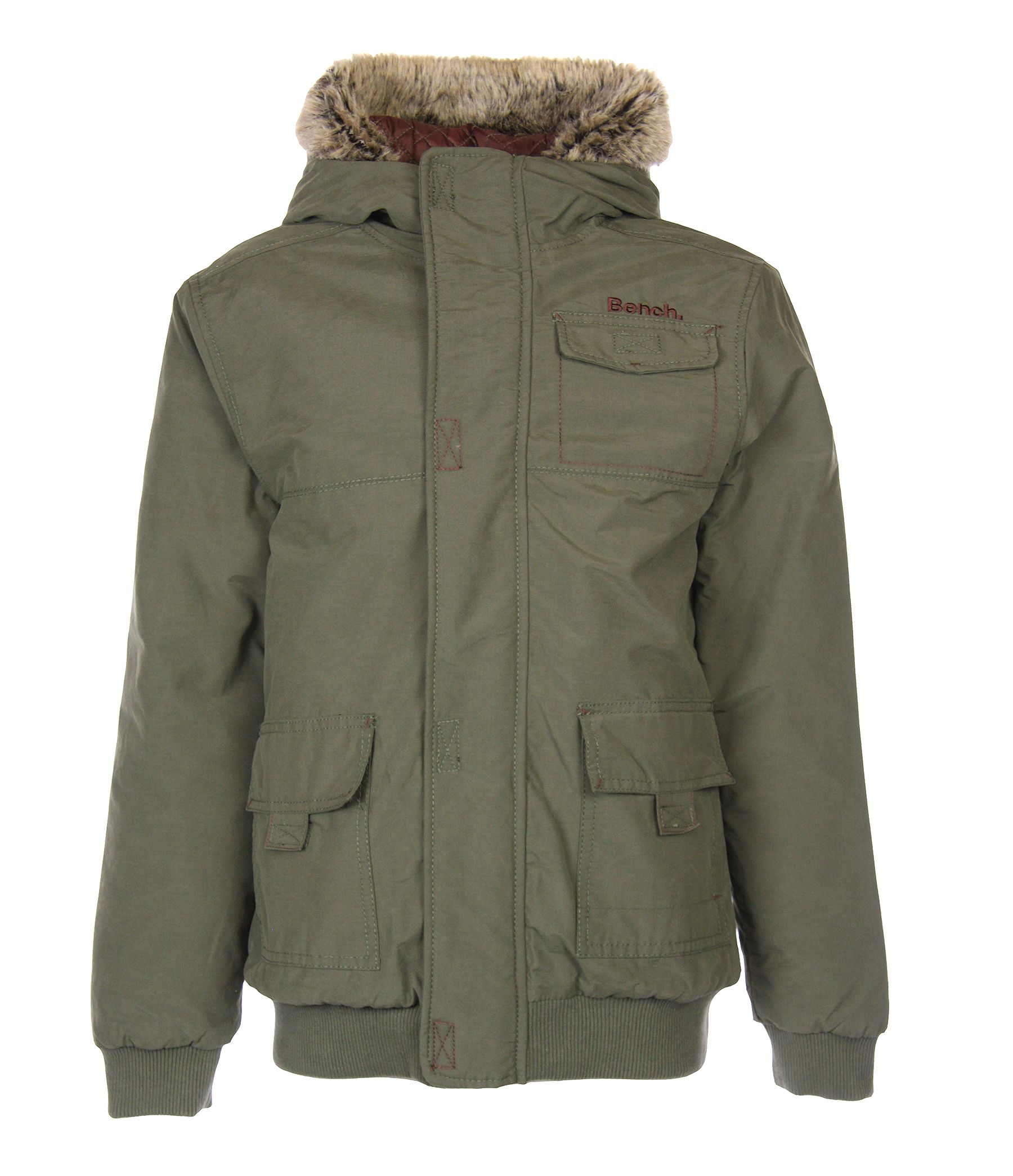 Boy`s abet heavy parka jacket