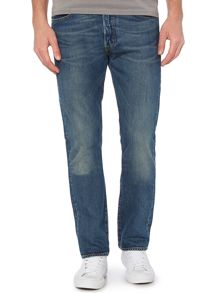 501 straight fit hook jeans