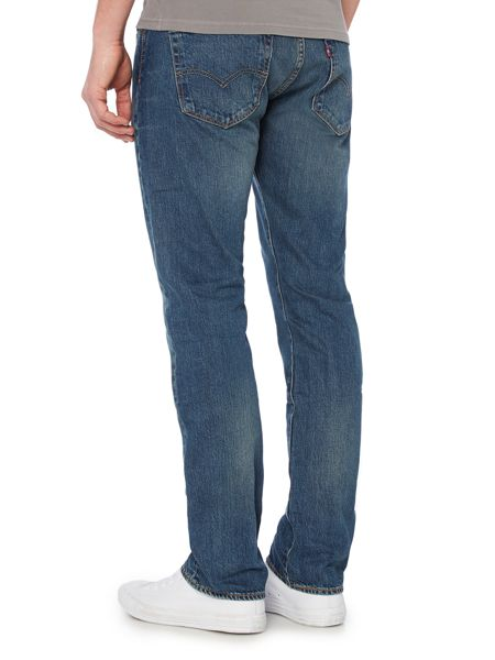 Levi's 501 straight fit hook jeans