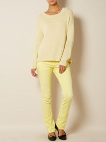 Madre skinny mid rise jean