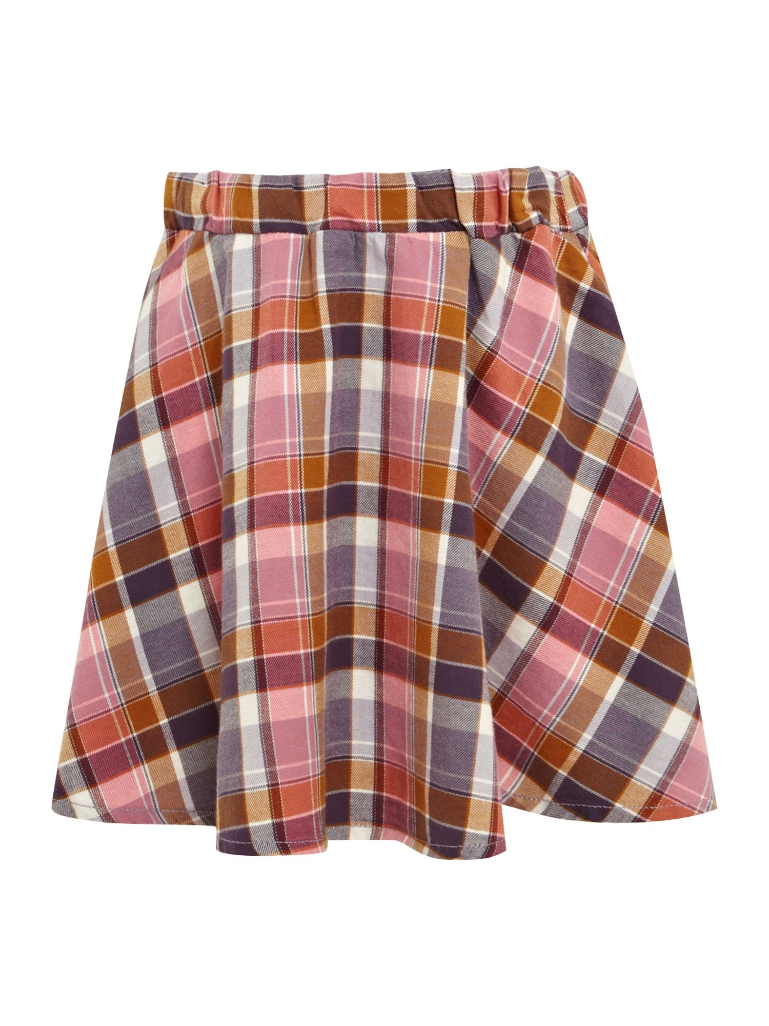 Girl`s checked skirt