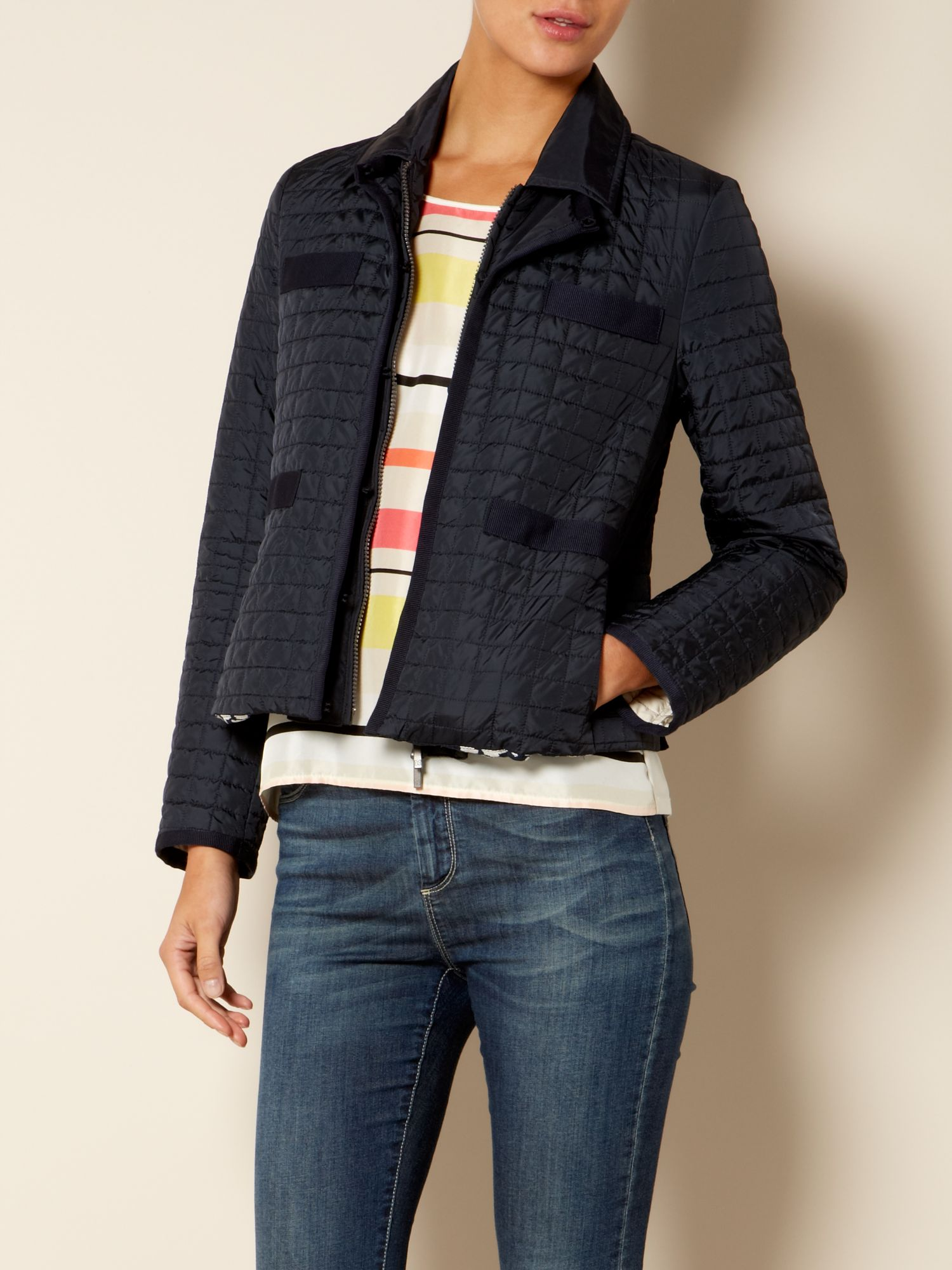 Ulna long sleeved quilted jacket