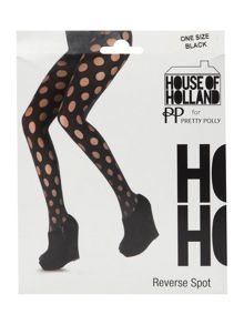 House of holland reverse polka dot tight