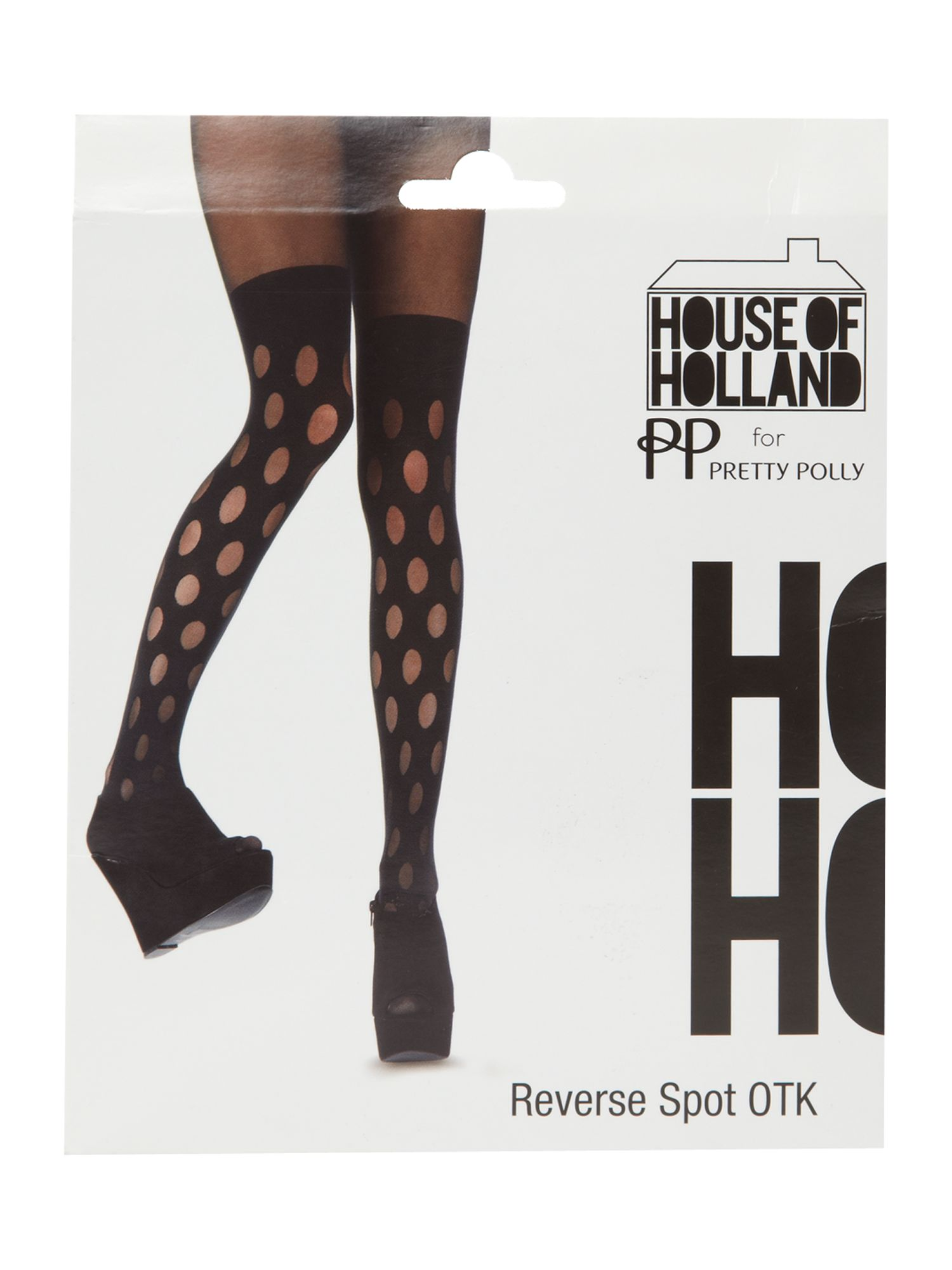 House of holland reverse polka dot mock hu