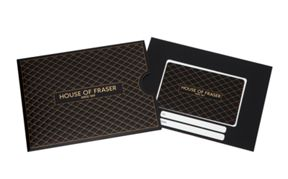 House of Fraser Embossed Lattice Gift Card