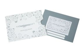 House of Fraser Wedding Gift Card