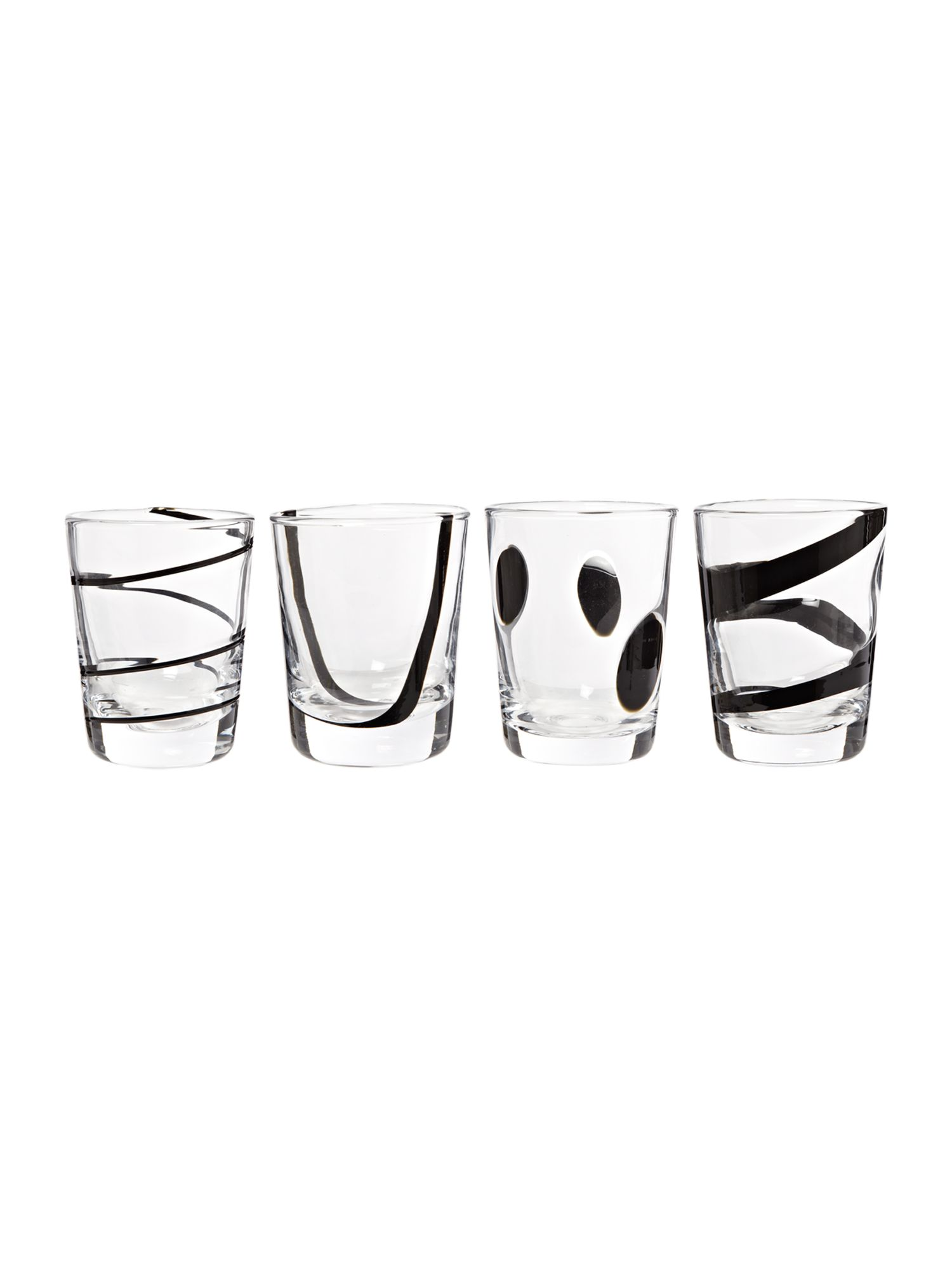 Jazz tumblers set of 4