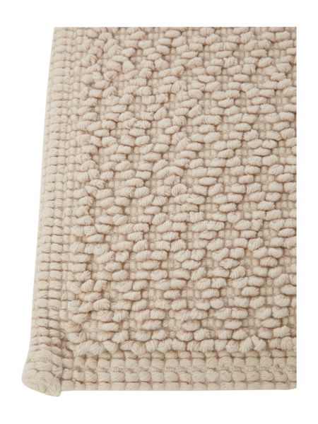 Linea Reversible Bobble Bath Mat in Wheat