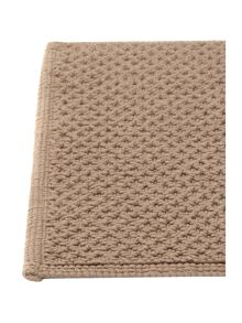 Linea Reversible Bobble Bath Mat in Mocha