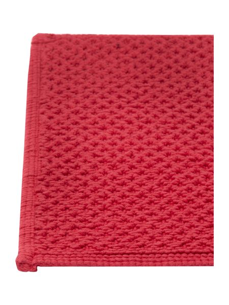 Linea Reversible Bobble Bath Mat in Bright Pink