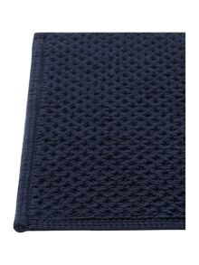 Linea Reversible Bobble Bath Mat in Navy