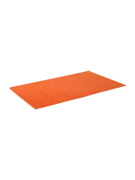 Linea Reversible Bobble Bath Mat in Orange