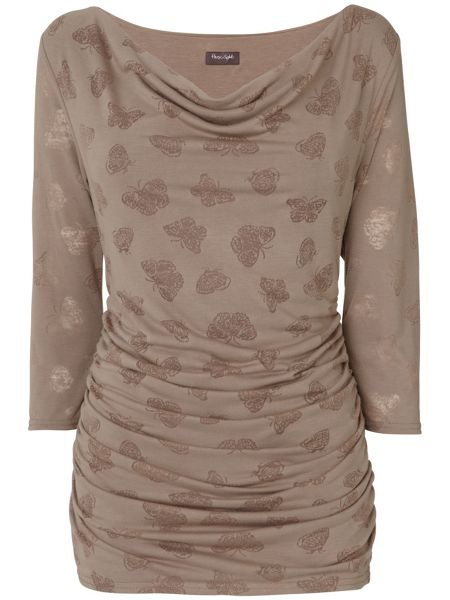 Phase Eight Butterfly burnout top