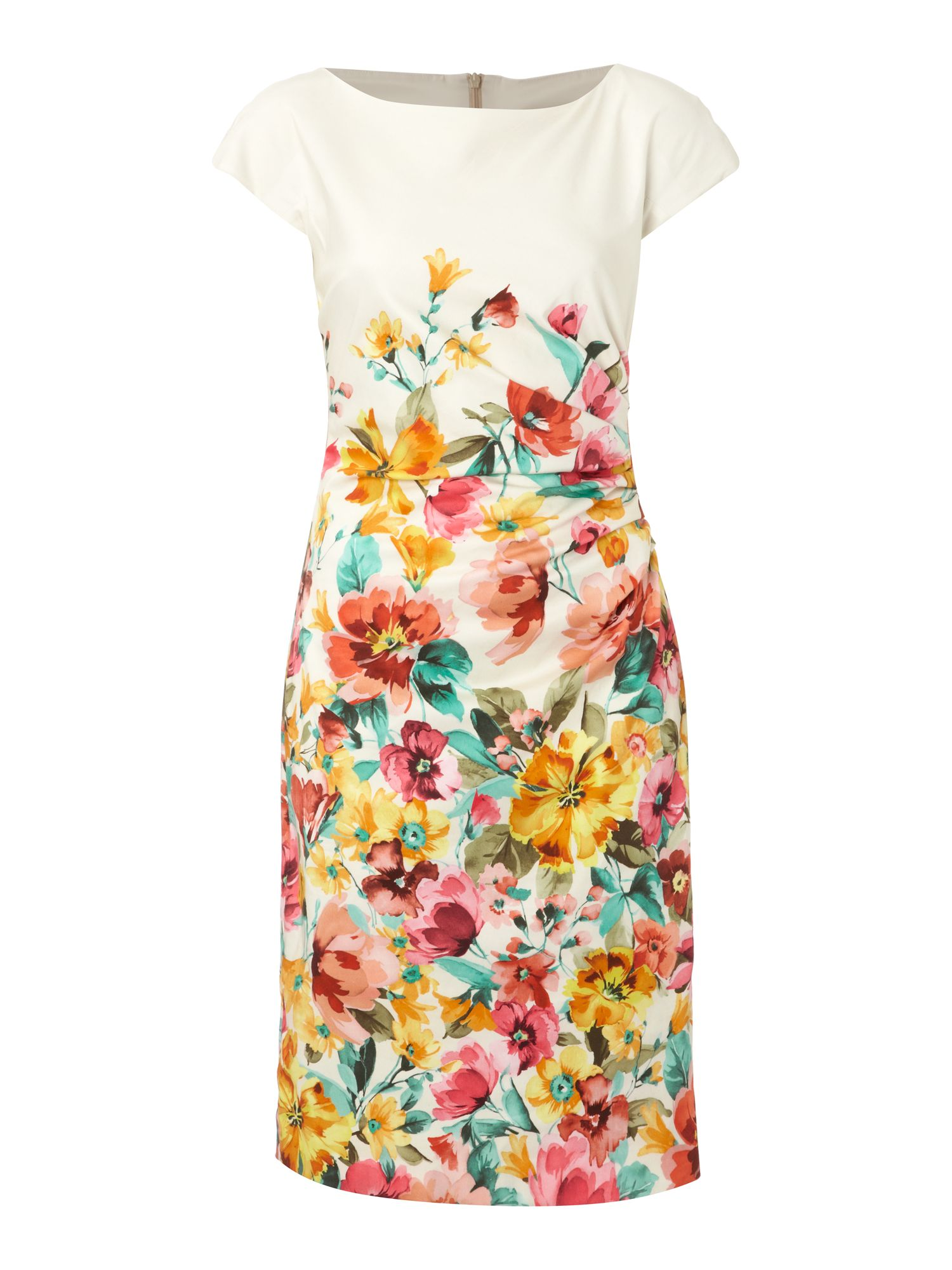 Marus floral print shift dress
