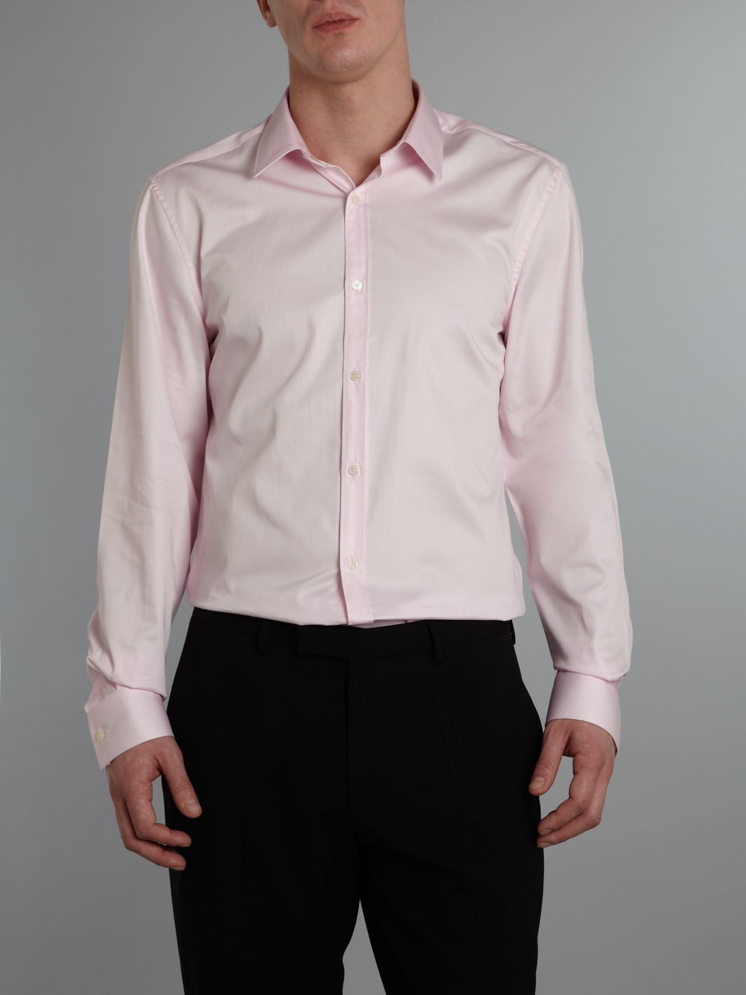 Madison Satin Cotton Shirt