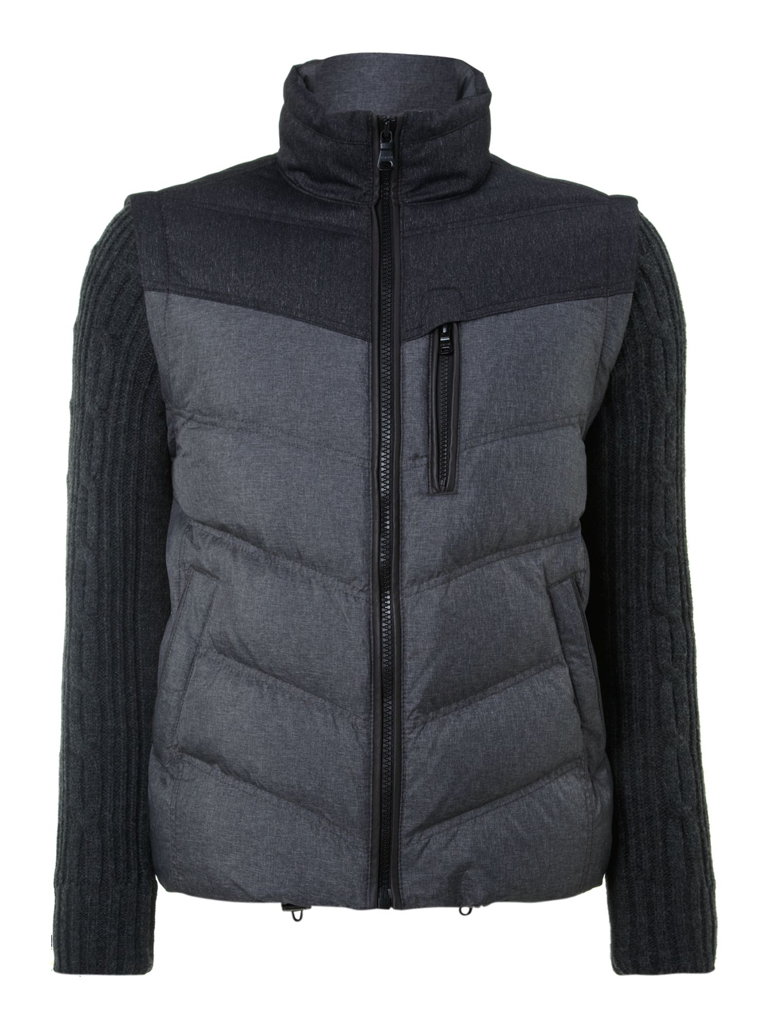 Dillion detachable sleeves gilet