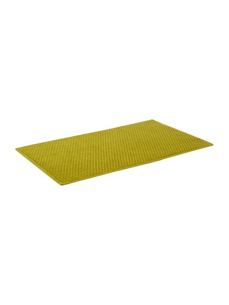 Linea Reversible Bobble Bath Mat in Lime