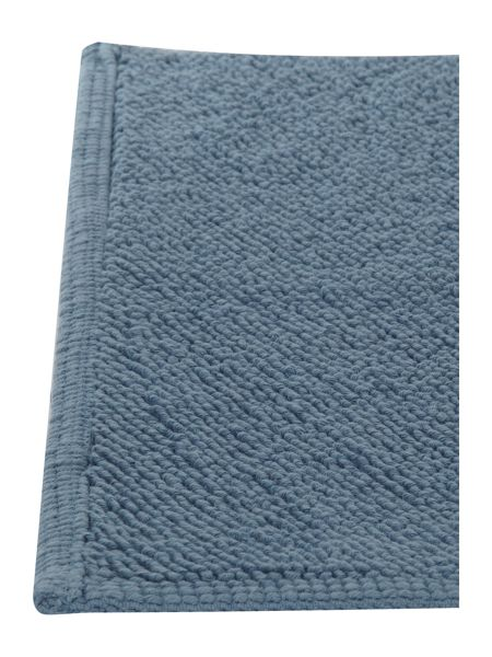 Linea Reversible Bobble Bath Mat in Cornflower