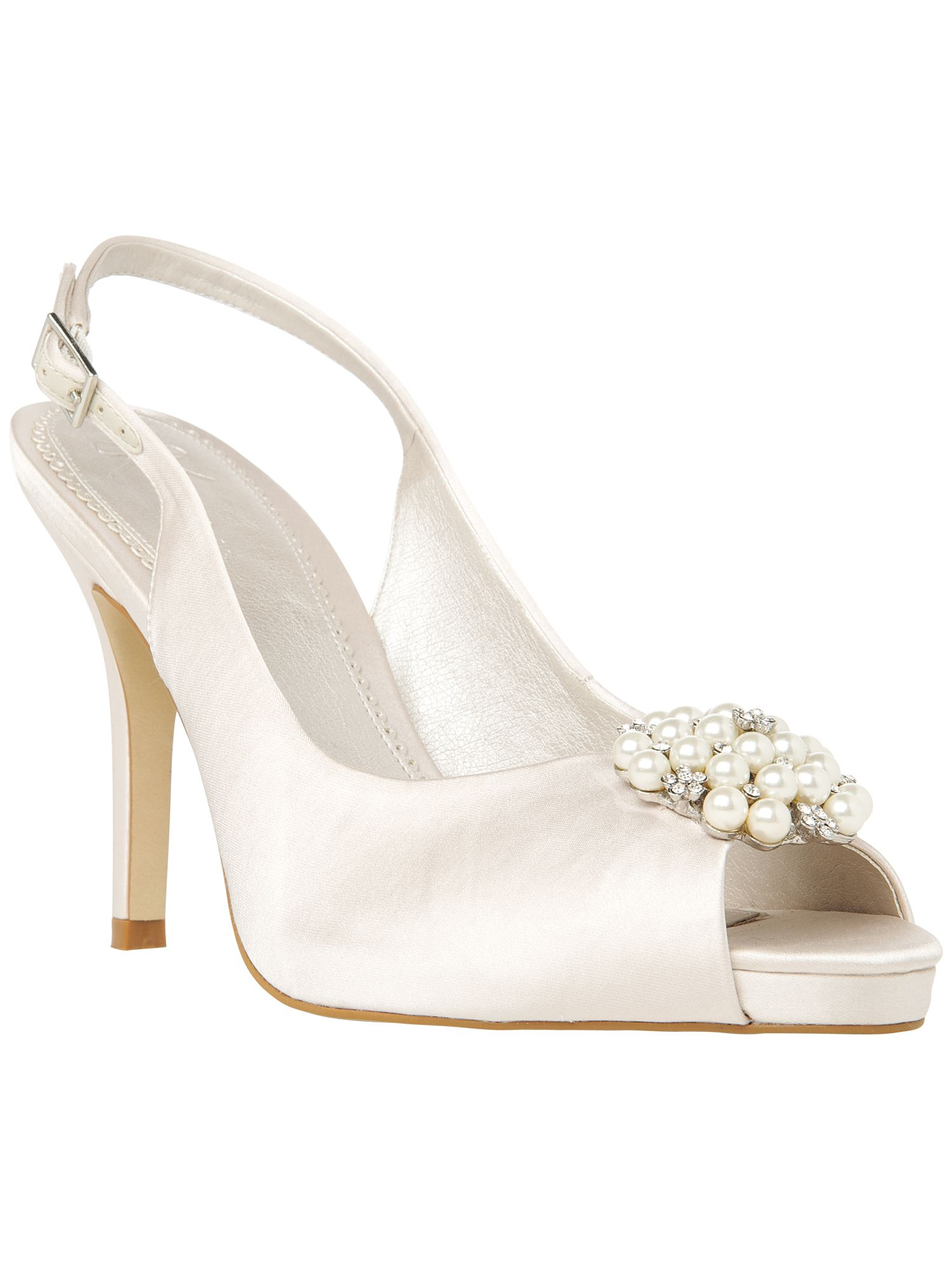 Alice slingback platform shoes