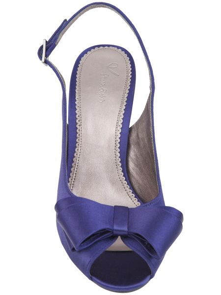 Phase Eight Sophie bow slingback shoes
