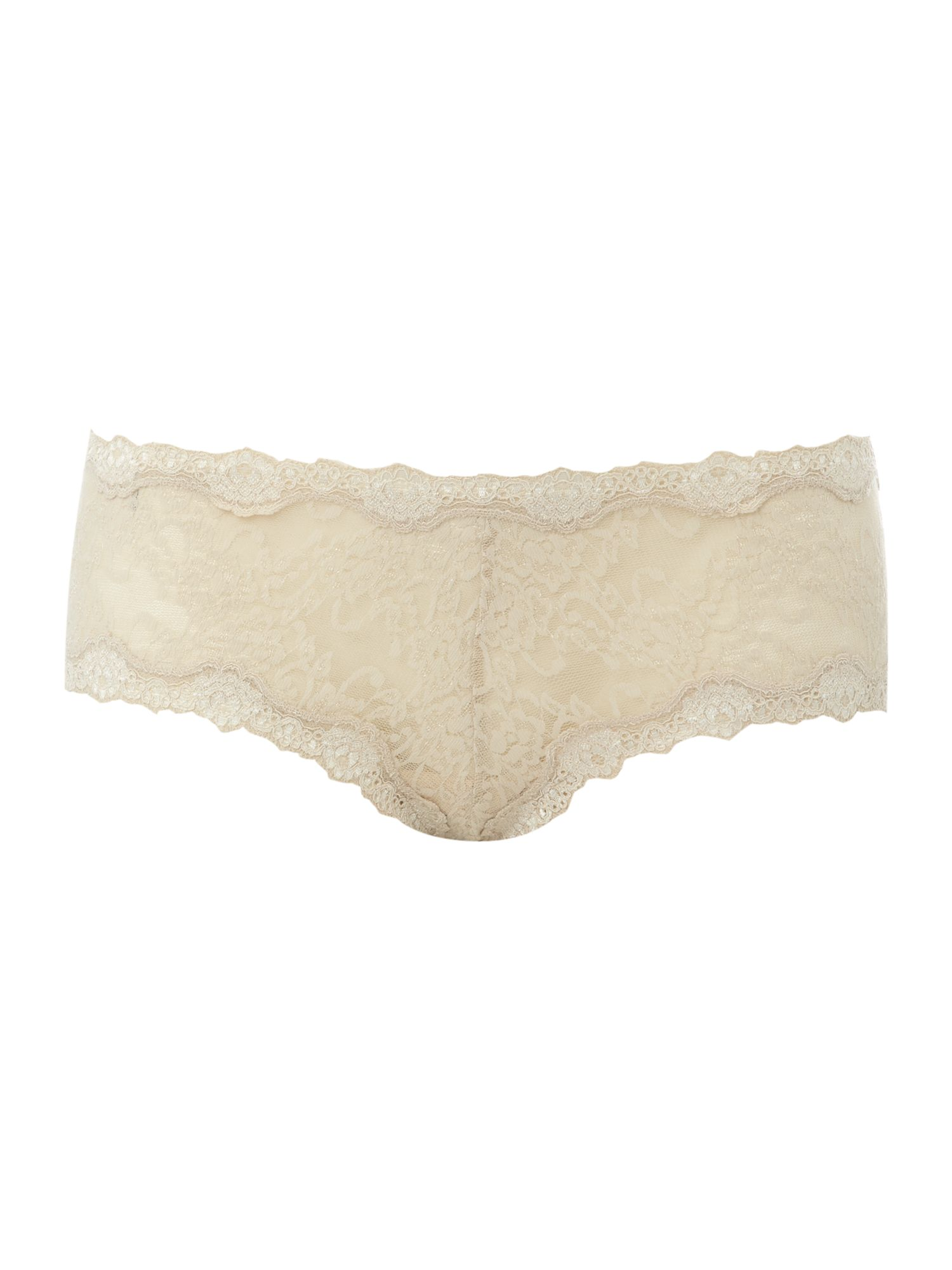Women's Mary Portas & Kinky Knickers Scalloped edge knicker, Cream