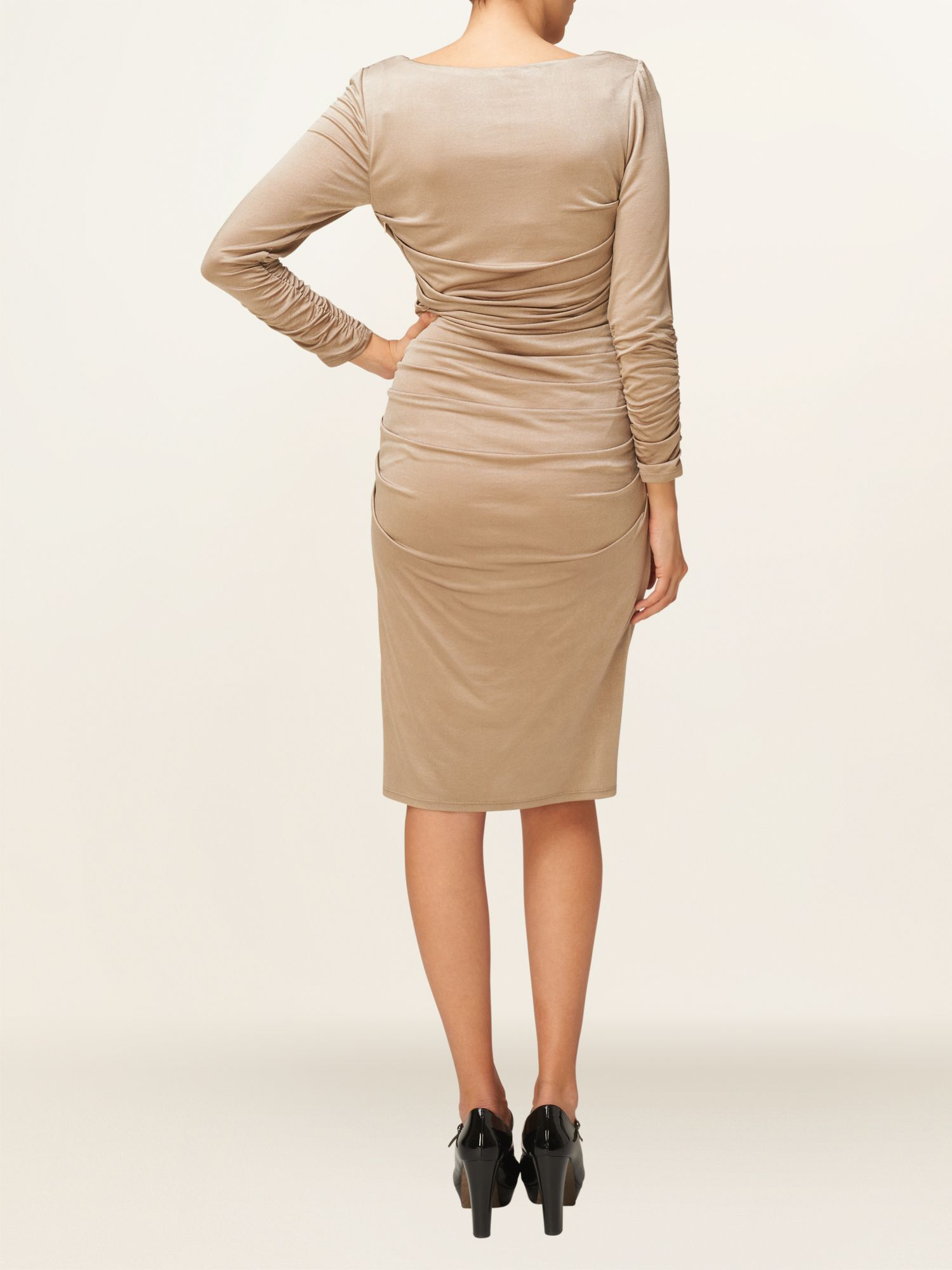 Josie drape dress