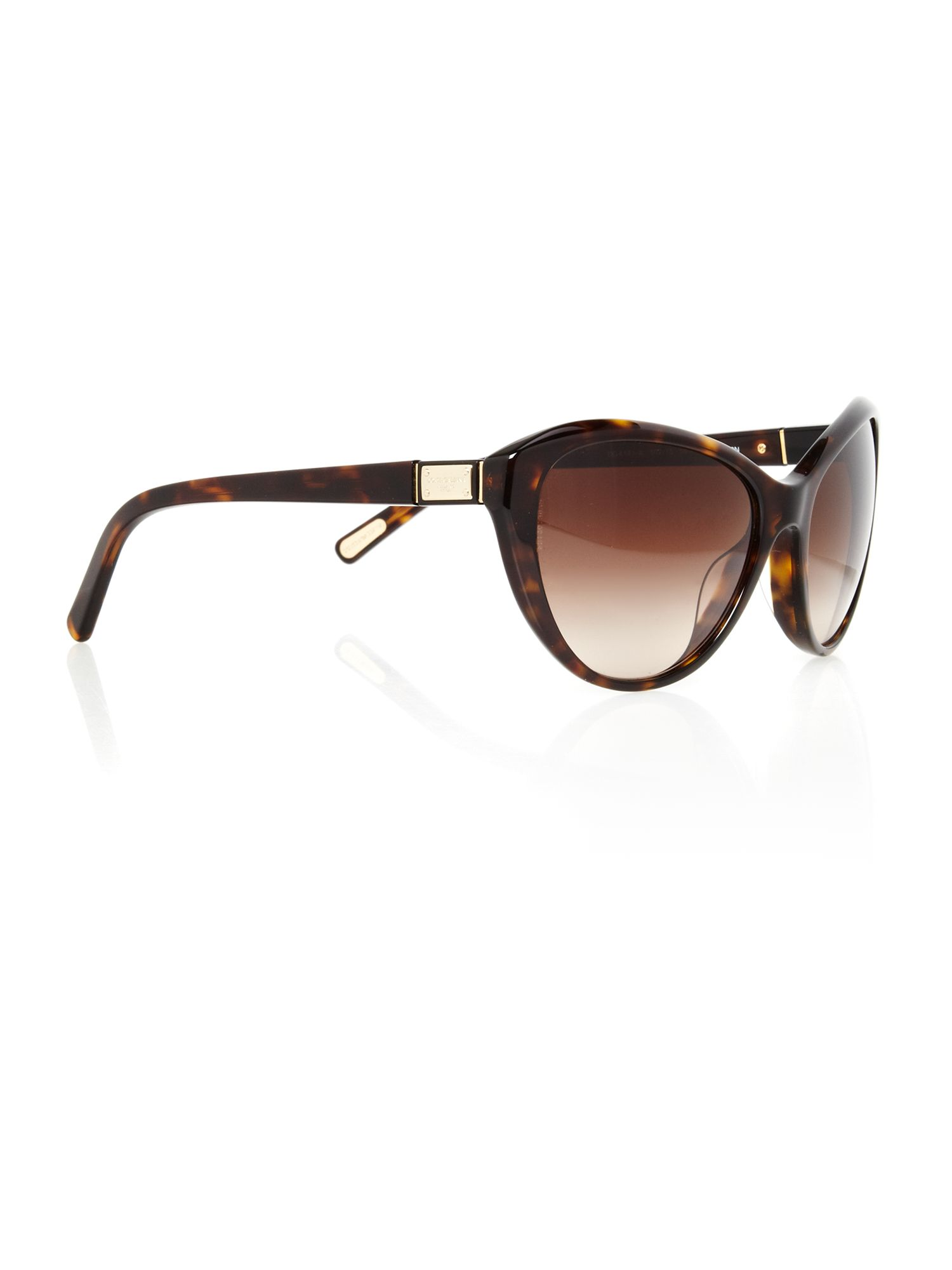 Ladies DG4141 Logo Havana Sunglasses