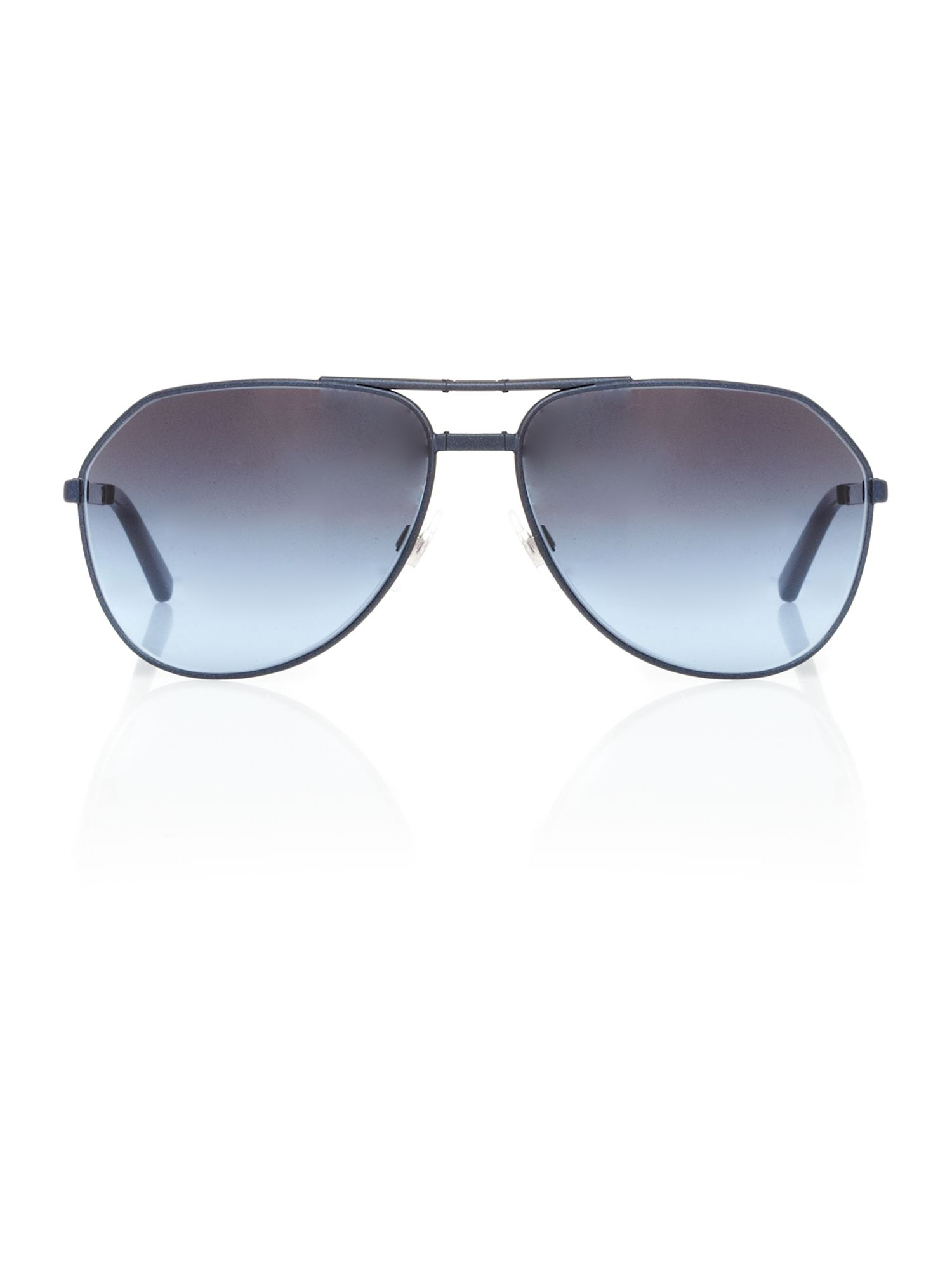 Mens DG2106 Pilot Foldable Blue Sunglasses